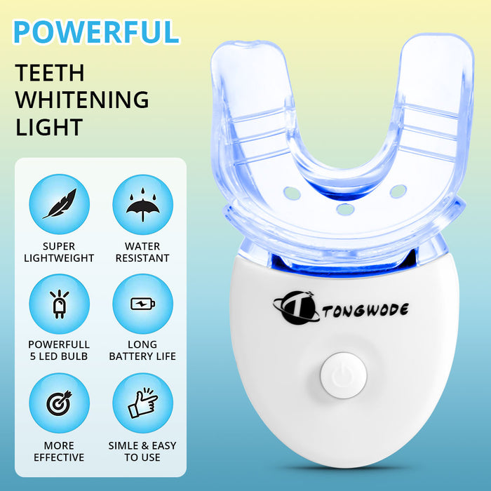 High Effect Teeth Whitening Kit With LED Light Oral Care Portable Tooth Tartar Removal Teeth