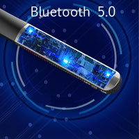 Wireless Earphone Bluetooth 5.0 Headset 6 Dynamic Hifi Headphone Sport Hanging Neck Earpiece with Type C 3.5mm Interface Earplug