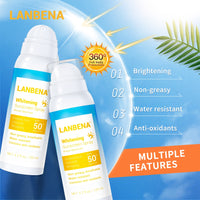 LANBENA Sunblock SPF 50PA+++ Brightening Spray Sunscreen Sunblock Breathable Effectively Against Radiation Water Resistant