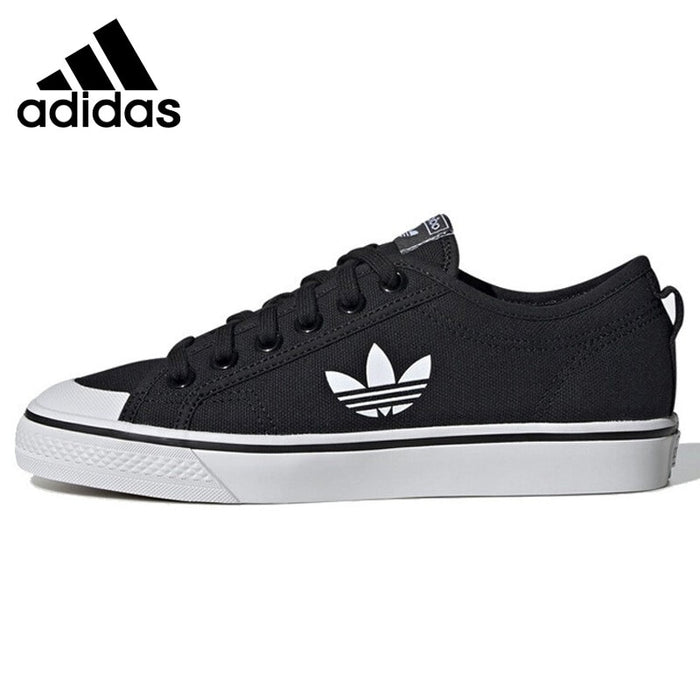 Original New Arrival Adidas Originals NIZZA TREFOIL W Women's Skateboarding Shoes Sneakers