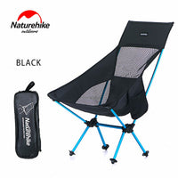 Naturehike Portable Outdoor Camping Chair Lightweight Foldable Fishing Chair Outdoor Beach