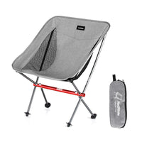 Naturehike Portable Ultralight Camping Chair Outdoor Folding Fishing Chair Alluminum