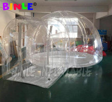 Outdoor airtight igloo dome bubble tent/Inflatable Transparent Bubble Tent House/Hotel Bubble Lodge Tent for camping