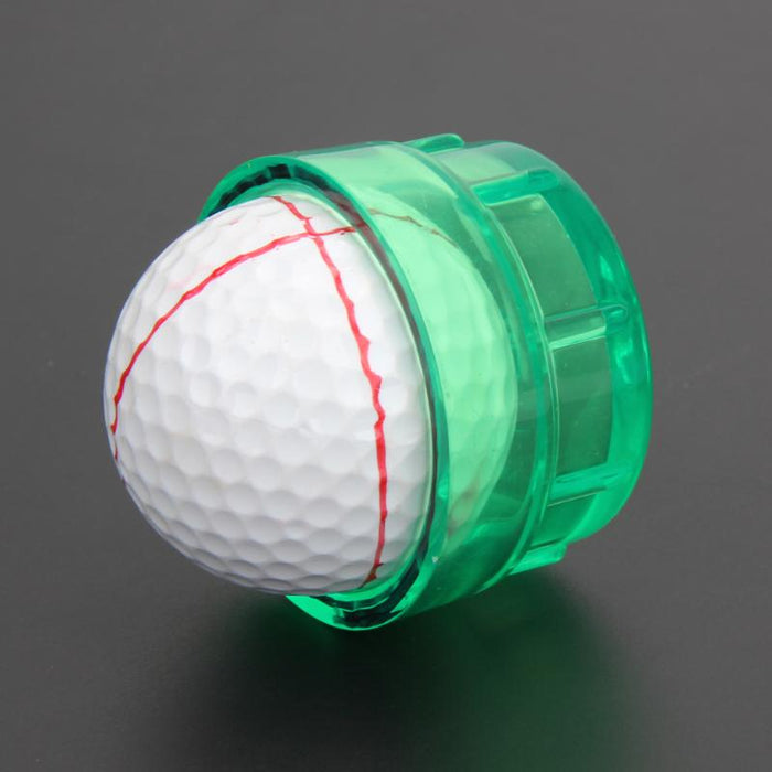 Golf Equipment Practical Golf Ball Line Marker Drawing Templates Alignment Tool Monogramme
