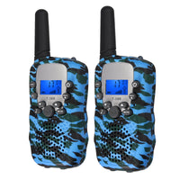 Proster For T-388 2PCS Children Walkie Talkie 8-channels 2-way Radio 3km range LCD display