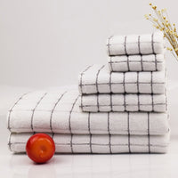 3pcs Towel Set 100% Cotton Bath Beach Towels Towel suit Square towel | hotel & Spa Quality Highly Absorbent Bathroom beach towel