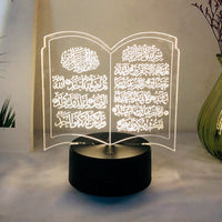 New LED Lights Ramadan Decoration Happy Eid Mubarak Decor for Home Eid Mubarak Gifts for Ramadan Eid al-Adha Muslim Islam Kareem