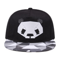 fashion spring and summer lovers baseball cap hip-hop hat male Ms. cute panda zebra rubber hat snapback Flat-brimmed hat Men Hat