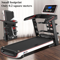 LED Display Folding Electric Treadmill Multifunctional Exercise Equipment Run Training Indoor Sports for House Running Treadmill