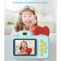DIY Digital Children Camera DSLR Camcorder Dual Lens Cartoon Kids Toys Cartoon Cute Toys Outdoor for Children Baby Gifts