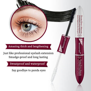2019 New 4D Silk Fiber Lash Mascara Base Mascara Waterproof Silk Fiber Volume Double Lengthening Curling Eye Base Mascara