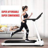 Foldable Gym Home Treadmill Household Fitness Exercise Treadmill Multifunctional Indoor Folding Running Training Treadmills