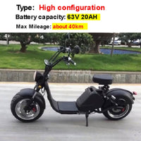 New Off Road Electric Scooter Vehicle Adult Electric Bicycle Scooter Removbale Battery