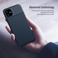 1pc Slide Camera Cover For iPhone 11 6.1inch/iPhone 11Pro 5.8inch/ iPhone 11Pro Max  Lens Protection Case Fashion against drops