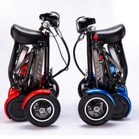 enhance perfect travel transformer 4 wheel folding mobility scooter new mini adult portable foldable electric scooter