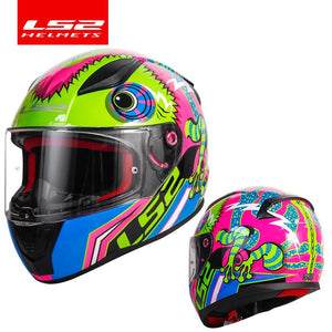 LS2 FF353 alex barros full face motorcycle helmet ABS safe structure casque moto capacete LS2 Rapid street racing helmets ECE
