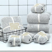 70x140cm Bamboo Charcoal Coral Velvet Bath Towel For Adult Soft Absorbent Bamboo Carbon Fiber Household Bathroom Towel Sets