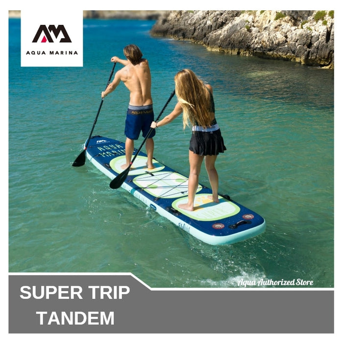 Aqua Marina 2020 version upgrade Super trip TANDEM stand up paddle board sup surfing inflatable