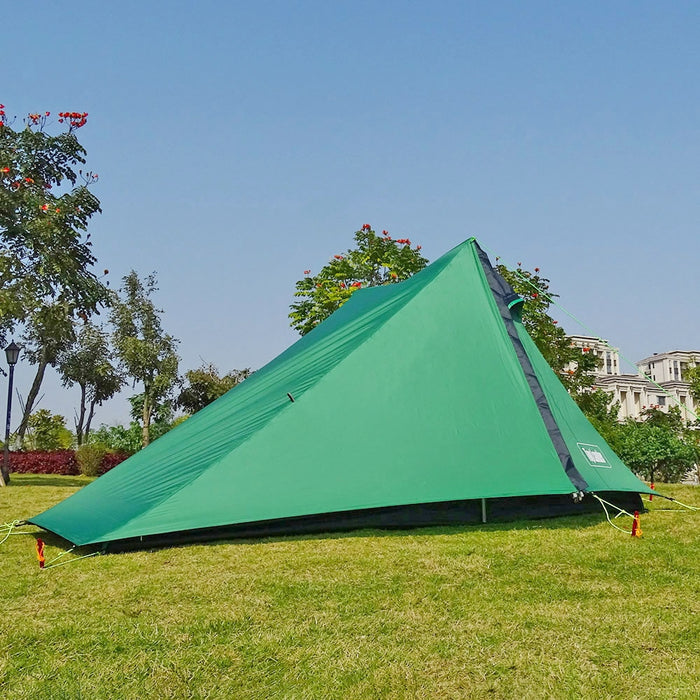 A Peak Ultra light Poleless Tent 1 2 Person for Camping Hiking Trekking Backpacking