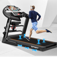 Homeuse fitness foldable running machine motorized treadmill, gym exercise machine, fast delivery