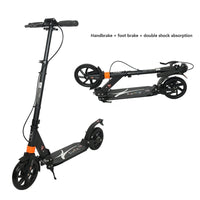 Factory direct adult scooter all-aluminum scooter folding lift two-wheeled scooter Road  Scooter Adult Strong powerful