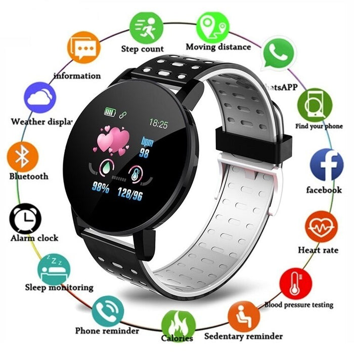 2020 Smart Bracelet Watch Man Wen Waterproof Blood Pressure Measurement Fitness Tracker