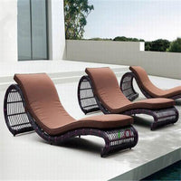 new arrival furniture  Outdoor recliner rattan leisure chair
