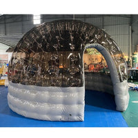 Popular outdoor dome tent transparent inflatable igloo tent for restaurant
