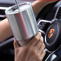 20oz 30oz 304 Stainless Steel Water Cup Vacuum Insulation Car Bottle Outdoor Travel Icemaster Mug Women Men Milk Beer Flask Mug
