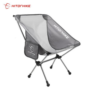 Hitorhike Travel Ultralight Folding Chair Superhard High Load Outdoor Camping Portable Beach