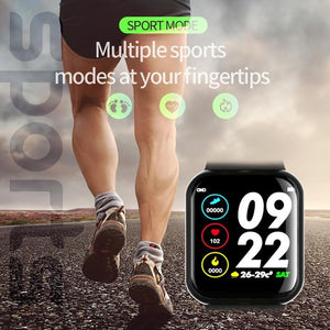 Pedometer Smart Watch Long Standby Sport Connect Watch Heart Rate Monitor Blood Pressure Smartwatch Support IOS Android 2019
