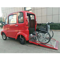 4 Wheel electric cabin disabled enclosed mobility scooter /Disabled Person 4 wheels car/lectric Vehicle Car Electric Vehicles