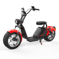 lUQI road legal eec/coc approved H3 1500w 60v 20ah /3000w removbale battery citycoco off road electric scooter ship from holland