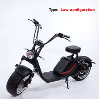 New Off Road Electric Scooter Vehicle Adult Electric Bicycle Scooter Removbale Battery 1500W 60V 12AH/20AH / 3000W 60V 20AH