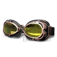 Vintage Motocross Goggles Retro Helmet moto Glasses Biker Fashion Steampunk Cafe Racer