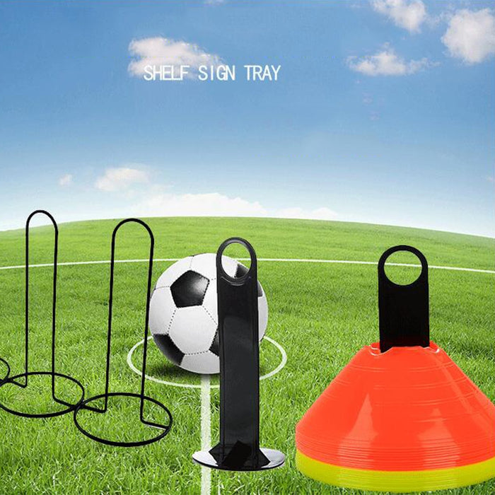 Soccer Football Accessories Plastic Handy Soccer Drill Agility Training Marker Disc Cone Holder