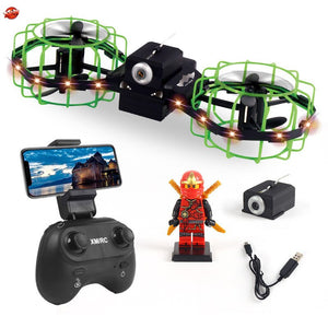 Super Cool Doll Watch Control WIFI FPV RC Drone 2.4G 720P Camera Extreme Speed Rotation Stunt Air Attitude Hold RC Quadcopter