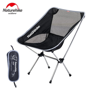 Naturehike Fishing Chair Ultralight Portable Outdoor Compact Folding Picnic Chair Fold Up