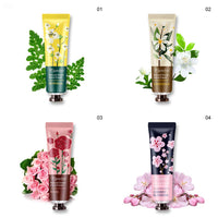 10pcs Plant Fragrance Hand Cream Moisturizing Hand Care for Women Men Winter Travel MPwell