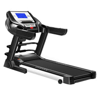 T910 5 inch Display Screen Electric Foldable Mini Treadmill Sit-Up Function Gradient Adjustment Mute Indoor Fitness Equipment