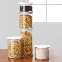 Kitchen Storage Container Food Storage Box Jar Airtight Plastic Container Cans with Cover Large Capacity Jars Tea Box R2020