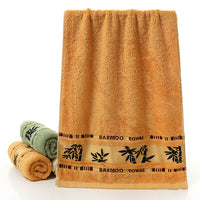 LDAJMW Adult Towel 100% Bamboo charcoal fiber Bath Towel Textile Large Thick Towel Hotel