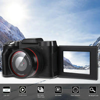 Digital Full HD1080P 16x Digital ZOOM Camera Professional 3.2 F Vlogging Camcorder Video / NTSC/PAL Camera F7E1
