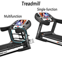 Motorized Treadmill Household indoor ultra-quiet electric folding treadmill Intelligent multifunctional fitness equipment