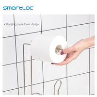smartloc Iron Large Stand Toilet Paper Holder Tissue Roll Rack Bathroom Storage Container Bath Accessories Kitchen Organizer