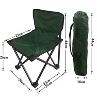 Outdoor Portable Folding chair Camping Hiking Travel Casual Chair Seat For Fishing Picnic Beach Chair Lightweight Stool