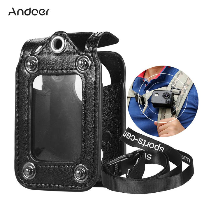 Andoer Multifunctional Clip-on Sports Camera Protecive Carrying Hanging Case Bag