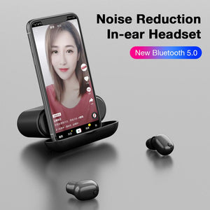 New Z3X Wireless Bluetooth 5.0 Earphone Dual Ear Wireless Headphones 2200mAh IP67 CVC8.0 Noise Reduction Stereo In-ear Headset