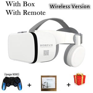 Bobo Bobovr Z6 Casque Helmet 3D VR Glasses Virtual Reality Headset For iPhone Android Smartphone