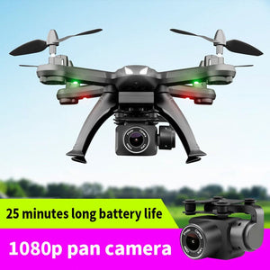 drone with camera HD 1080p High Quality quadcopter fpv one-button return flight RC helicopter toys 25 minutes long battery life